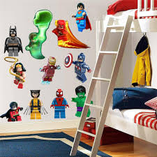 lego wall stickers custom wall stickers lego dc super heroes decal removable wall sticker home decor art free home boys room lego star wars