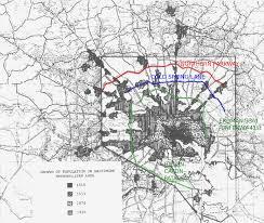Baltimore City Map Baltimore Accessibility Corridors U2013 Ideal City
