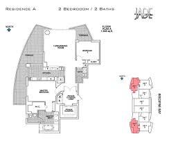 jade brickell floor plans
