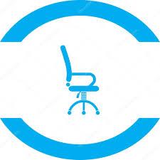 icone de bureau icône de bureau travail chaire vecteur image vectorielle quka