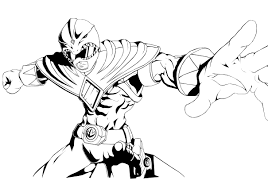 green ranger inked by zatch on deviantart