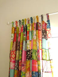 Bohemian Drapes Ashlee Park Created This Stunning Upcycled Patchwork Curtain From
