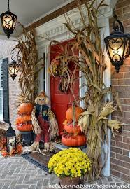 Halloween Patio Decorating Ideas Fall Outside Decorations Easy Halloween Decorations For Outside