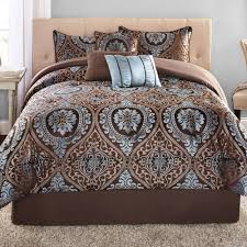 California King Comforters Sets Mainstays 7 Piece Victoria Jacquard Bedding Comforter Set
