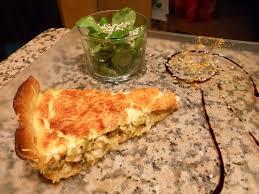 recette de cuisine quiche au poulet quiche au poulet curry et poireaux dans la cuisine de madelyne