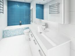 turquoise feature wall a jewel of a renovation who bathroom