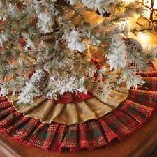 burlap tree skirt burlap tree skirt ebay