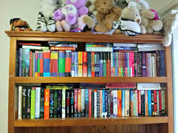 pretty bookshelves bookshelf tour lots of pretty books the loony teen writer
