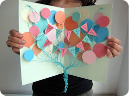 c is for craft diy balloon attack birthday card
