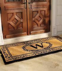 monogrammed front door mats 7375
