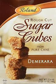 sugar cubes where to buy roland cut demerara sugar cubes 17 6 oz