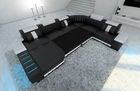 Sectional Sofa With Bed by Xxl Sectional Sofa Boston Led U Shaped