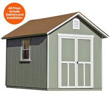 Outdoor Sheds For Sale by With Floor Sheds Sheds Garages U0026 Outdoor Storage The Home Depot