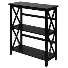Black And White Bookcase by Amazon Com Black Montego Horizontal Bookcase This Mid Century