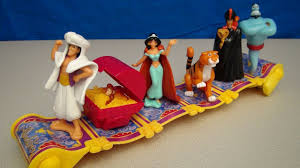 disney u0027s aladdin 2004 mcdonalds happy meal toy collection video