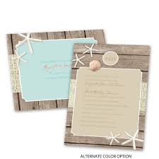 beach retreat invitation with free response postcard ann u0027s