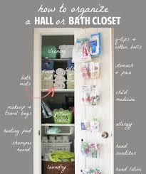 hall closet organization closet organization the doors and closet