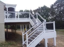 deck steps american exteriors u0026 masonry pertaining to beautiful