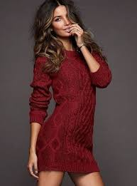 maroon sweater dress cable sweater dress of course mine would be a bit longer