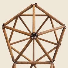 geometric wood sculpture 1977 geometric wood sculpture d bahling nm