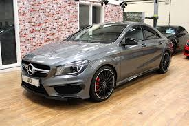 mercedes cla45 amg for sale mercedes cla45 amg 4matic for sale from uki sudbury ltd