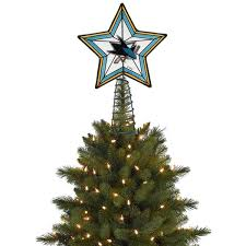 san jose sharks tree topper shop nhl
