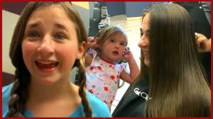 doctors and work hairstyles girl s doctor visit getting a haircut baby hair style fun