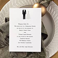 wedding rehearsal invitations allshhlq simple wedding style a great site