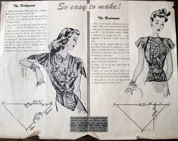 cassie stephens sewing from a vintage pattern