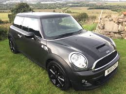 bmw mini cooper s 2011 r56 eclipse metallic grey black leather