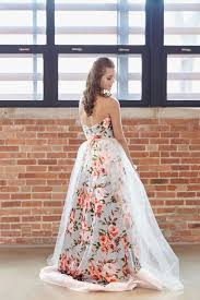 30 floral wedding dresses you can shop now deer pearl flowers