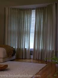 Window Bay Curtains Best 25 Corner Curtain Rod Ideas On Pinterest Corner Window