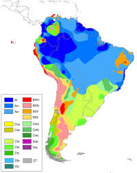 Map Of South America And North America by