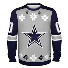 cowboys sweater nfl dallas cowboys almost right but sweater x large gray