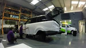 white wrapped range rover range rover wrap grafxnw 3m gloss white satin black upper youtube