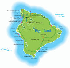 map of hawaii big island hawaiian islands maps hawaii golf deals