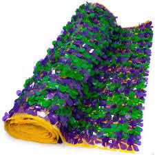 mardi gras paper floral sheeting petal paper mardi gras 10 yards 1v36gpg