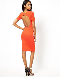 the 25 best orange bodycon dress ideas on pinterest denim