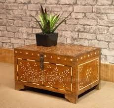 solid jali sheesham wood treasure chest ibf 109 4 size 1 don t hide your lp s away them out proudly on display with