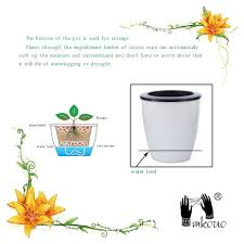 flower pot picture more detailed picture about mkono 3pcs self