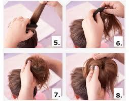 tutorial sirkam rambut panjang tutorial membuat cepol rambut yang simpel dan cantik dalam 5 menit
