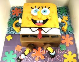 spongebob cake margaretcookies
