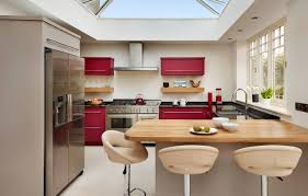 Kitchen Red Cabinets by Red Cabinets In Kitchen Red Kitchens Interior Cool Red Bedroom