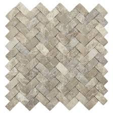 D Brown Marble Basket Weave Stone Tile Pebble Tiles Stone - Basket weave tile backsplash