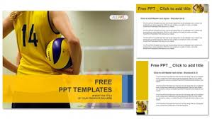 volleyball powerpoint template casseh info