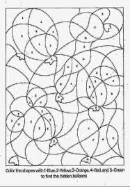 color by number coloring sheets free coloring sheet