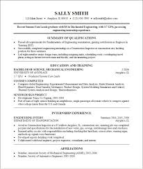 Resume Samples For Internships For College Students by College Resume Examples 10 Steps To A Great Hockey Resume