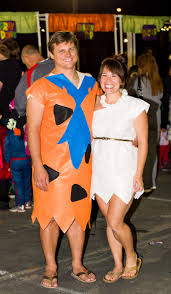 Flintstones Halloween Costumes Domestic Fashionista Fred Wilma Flintstone Couple U0027s