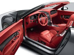 bentley cars interior bentley continental gtc speed 2009 red interior design