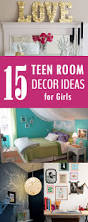Ideas For Girls Bedrooms Best 25 Diy Teen Room Decor Ideas On Pinterest Diy Room Decore